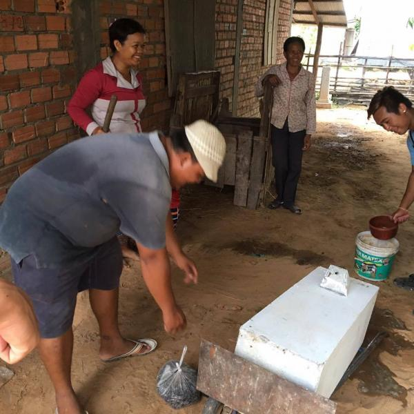 Building the water filters