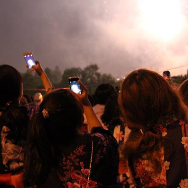Hokkaido fireworks