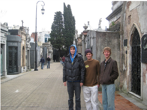 Students touring Buenos Aires, Argentina