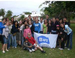 AFS students in Argentina