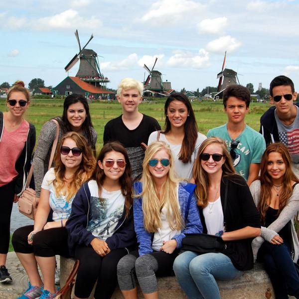 Amsterdam, Dutch, Belgium, Windmills, The Netherlands, Teen Travel
