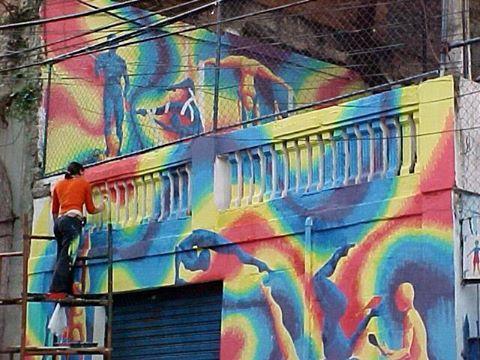 Volunteering with arts in Rio de Janeiro, Brazil