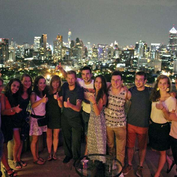 China Asia Exchange students