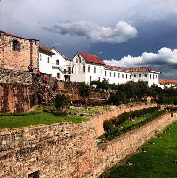 Temple of the Sun Cusco Peru