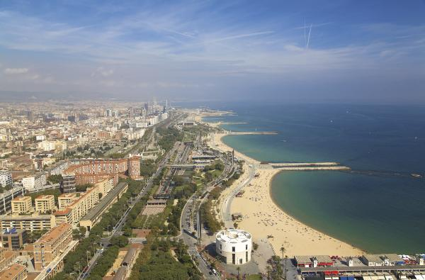 Beach View Study Abroad CEA Barcelona Spain