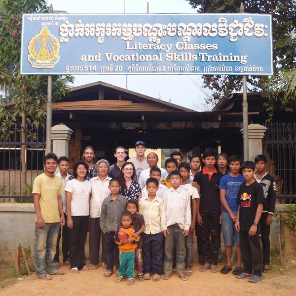 Vocational Training Program in Cambodia with Love Volunteers!
