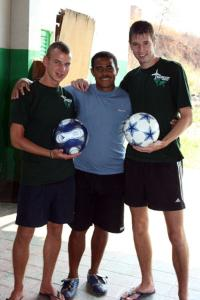Coach Football to Children in Brazil | travellersworldwide.com