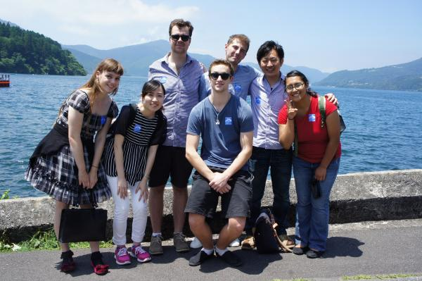 Field trip with interns in Japan