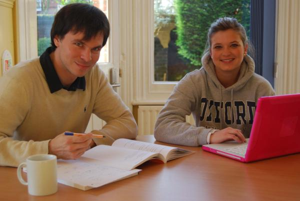Adult students at St. Clare