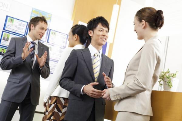 AEON, lobby, socializing, teaching English, study English, branch school