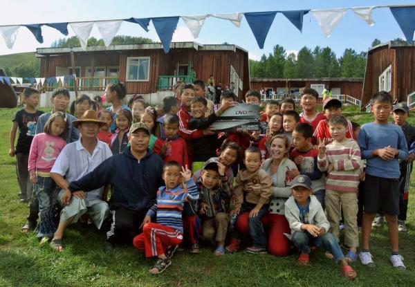 volunteer in Mongolia