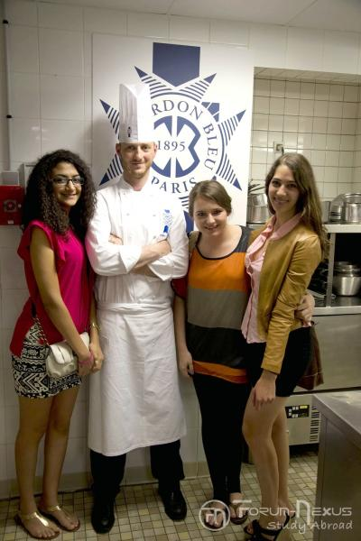 Le Cordon Bleu Paris chef students