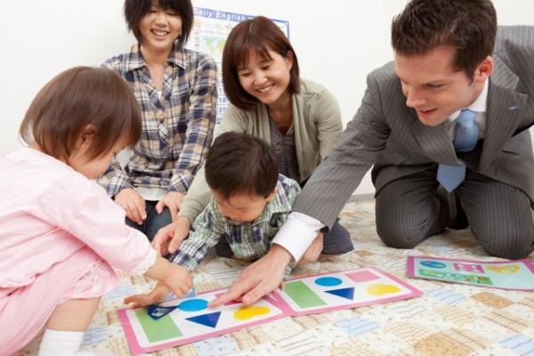 AEON, Japan, branch school, teach English, study English, kids, children, babies