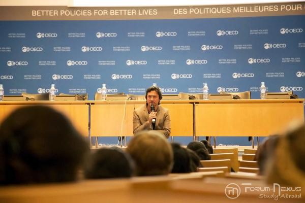 OECD Paris speaker
