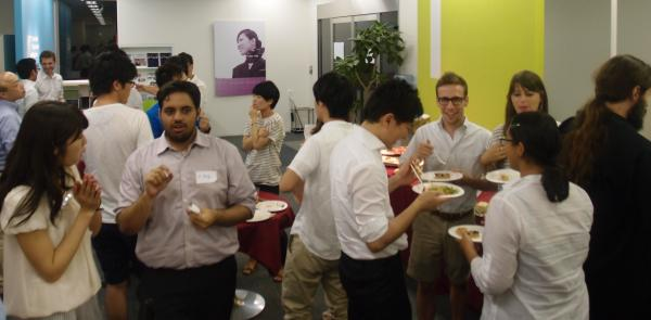 International party at office