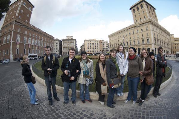 Sant'Anna students exploring Venice