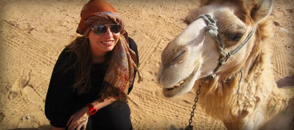 Study Abroad and Camel Rides in Jordan