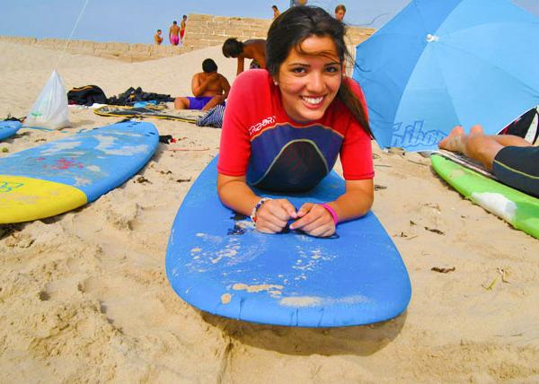 Athena Study Abroad Cadiz, Spain Surfing Lessons