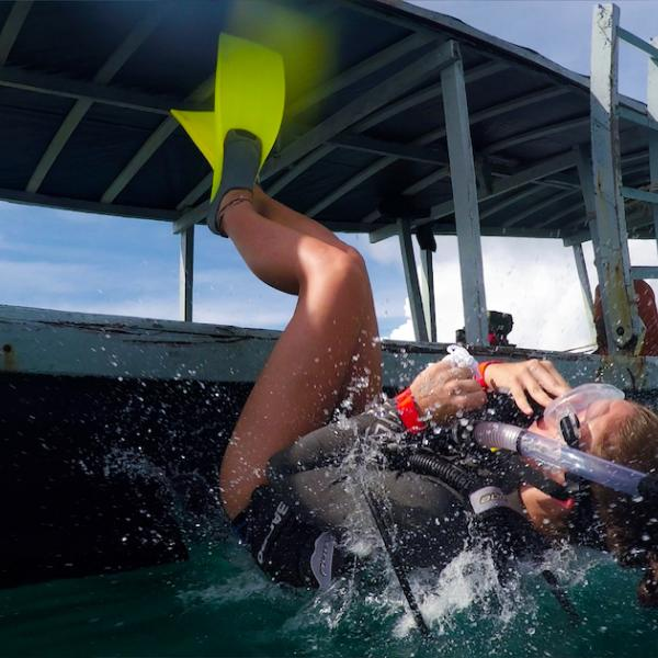 Scuba diving in Gulf of Siam
