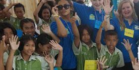 Camp Thailand Volunteer English Teaching TEFL TESOL Thai School