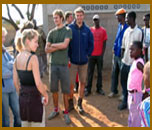 Volunteering at a community youth camp in Sizinda ,Victoria Falls