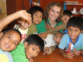 High School Volunteer Abroad in Peru