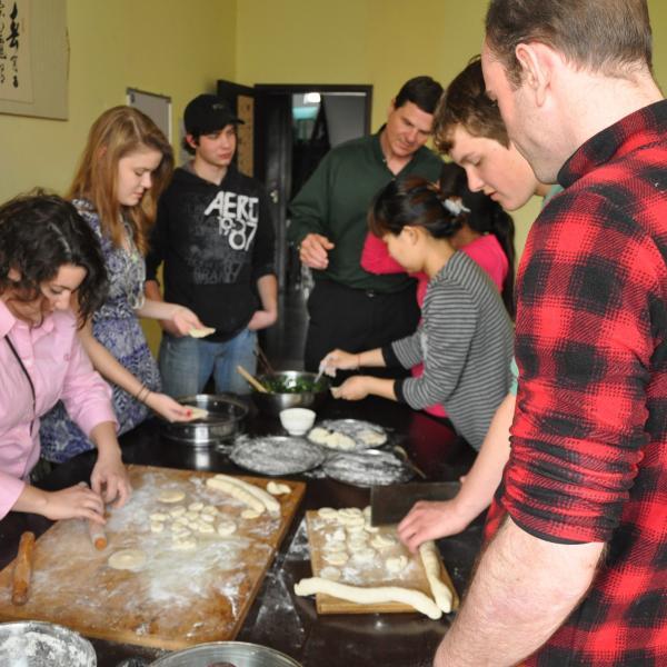 Chinese Cooking-Dumpling