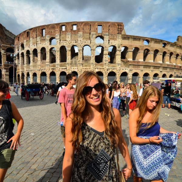 Greece, Italy, Rome, Teen Travel, Colosseum, Ancient Ruins, Roman Forum