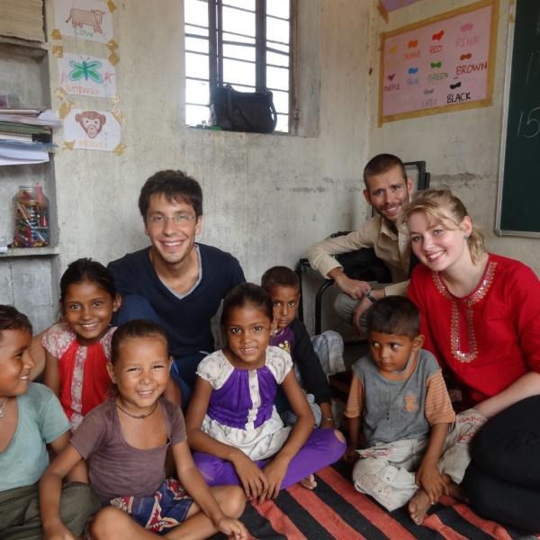 Street Children Project in India with Love Volunteers!