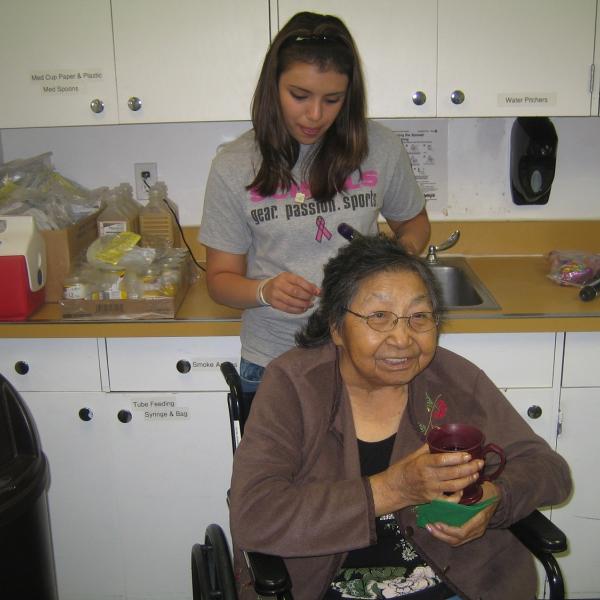 Work with elders in Montana
