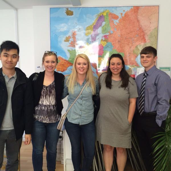 ISA interns in London