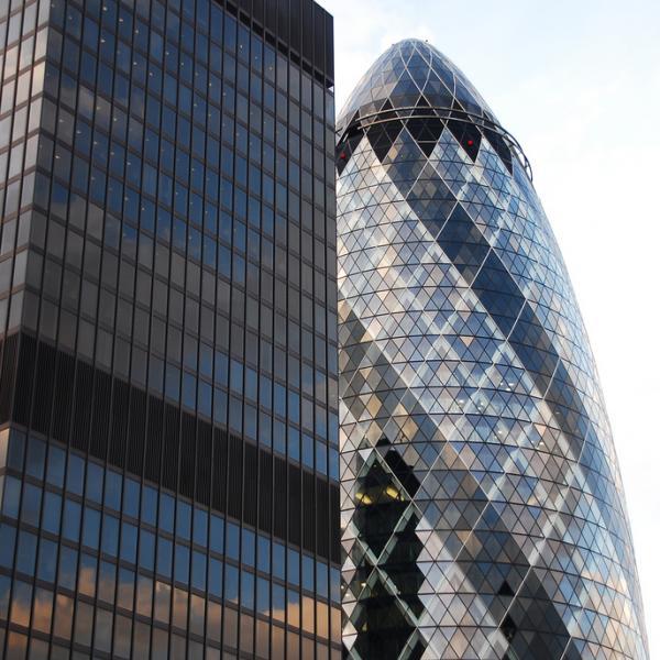 London city buildings
