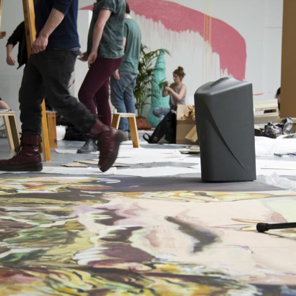 Fine art studio, Nottingham Trent University