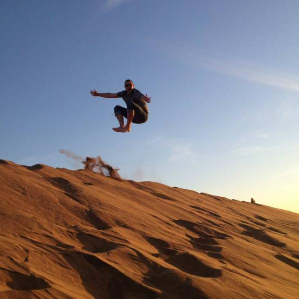 Sand Dunes in Chile!