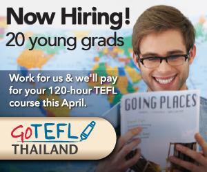TEFL jobs Thailand