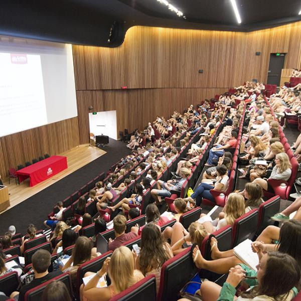 Griffith lecture theatre