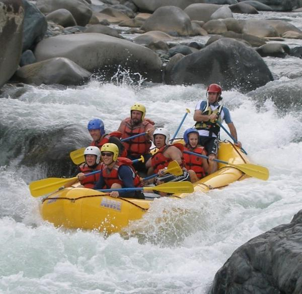 Rafting in Chiriqui