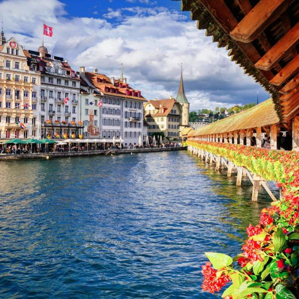 Idyllic Lucerne is rich in history and culture