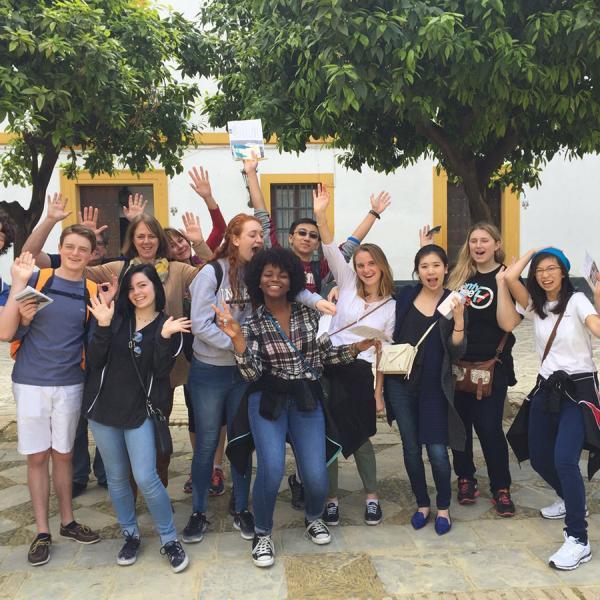 Walking tour in the Barrio de Santa Cruz in Sevilla  - Educational tour in Spain