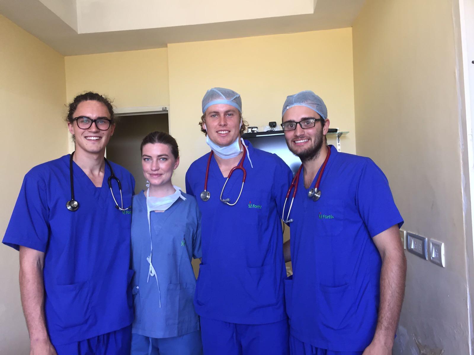 medical volunteering