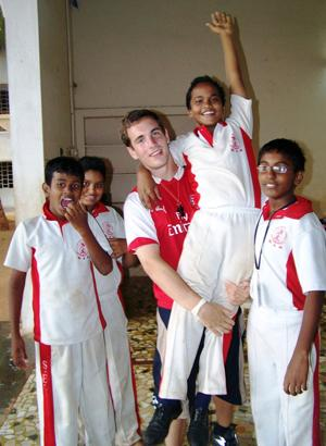 Coach a Variety of Sports to Children in India | travellersworldwide.com