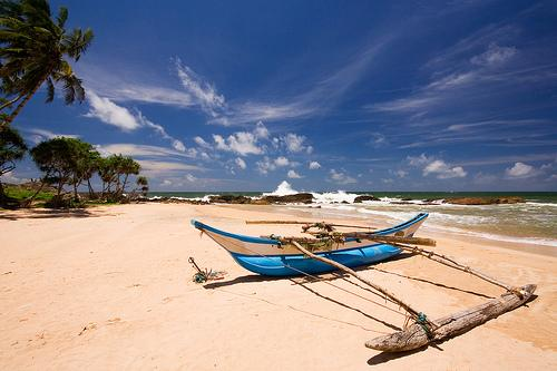beach in Induruwa