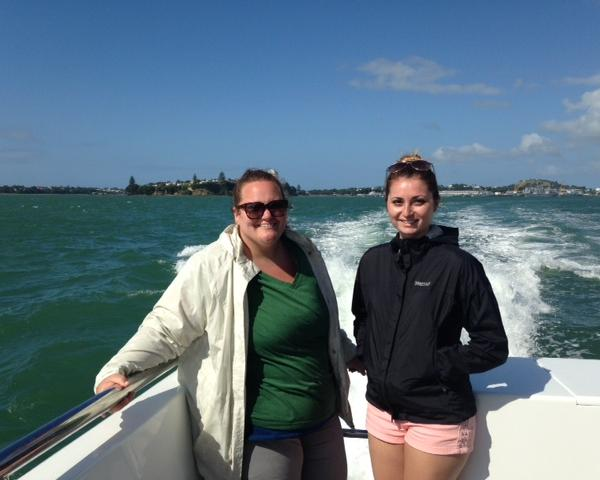 ISA interns during the Bridging Cultures Program in New Zealand