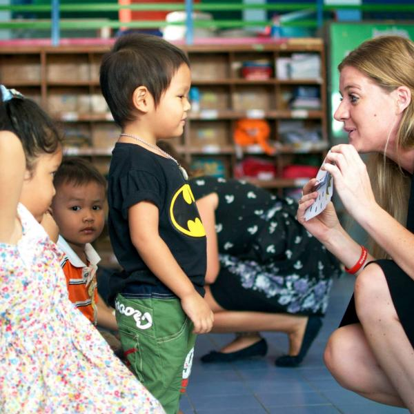 Teaching Kindergarten in Thailand