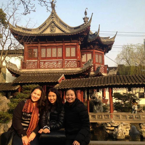 ISA interns in Shanghai, China