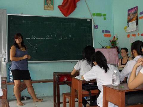 Teaching and Assisting in Schools in Vietnam with Love Volunteers!