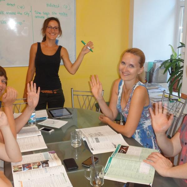 Teaching English in Russia with Love Volunteers