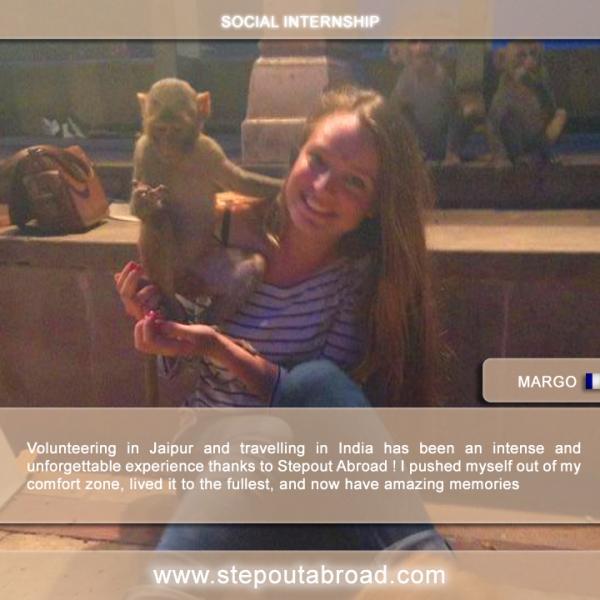 stepout abroad, internship, india, marketing