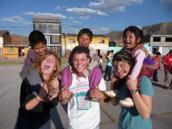 Rewarding volunteer work at a Cusco orphanage
