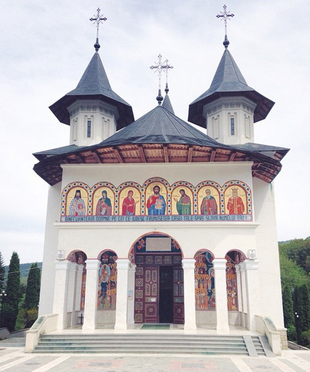 Sihastria Monastery in Romania